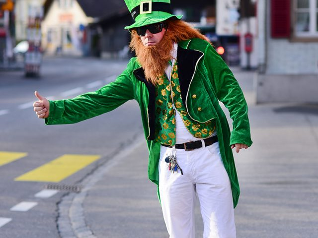 Guinness feiert den St. Patrick's Day in Interlaken