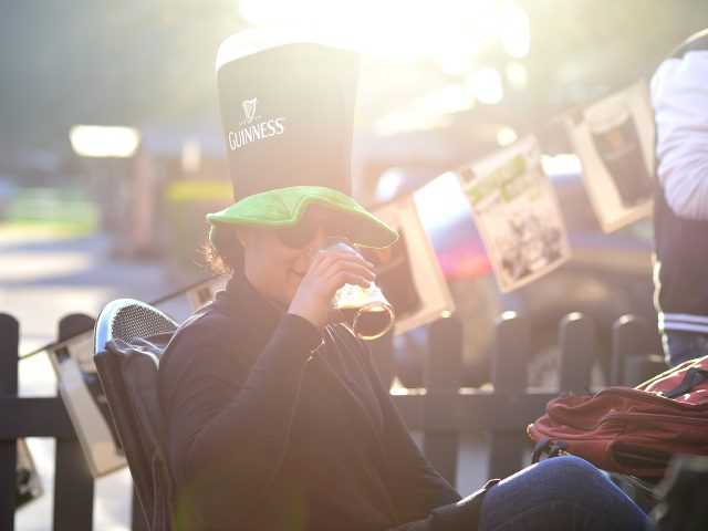 St. Patrick's Day mit Guinness