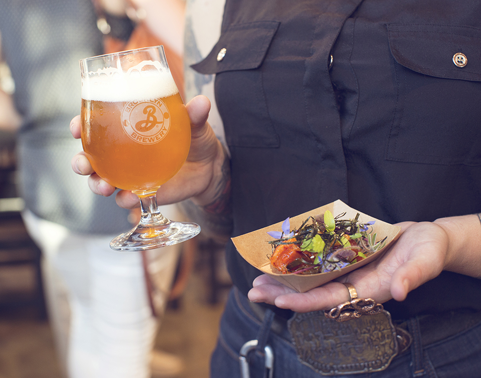 Street Food, Nya Carnegie und Brooklyn Beer