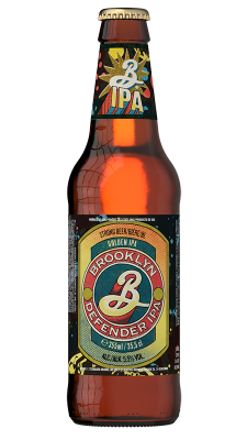 Brooklyn Bierflasche Defender IPA