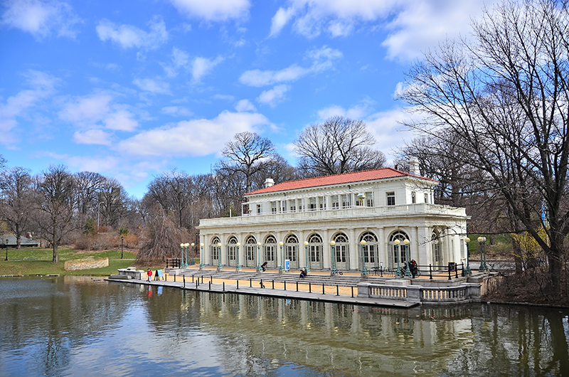 Der Prospect Park in Brooklyn