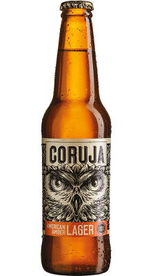Flasche Coruja Amber Lager